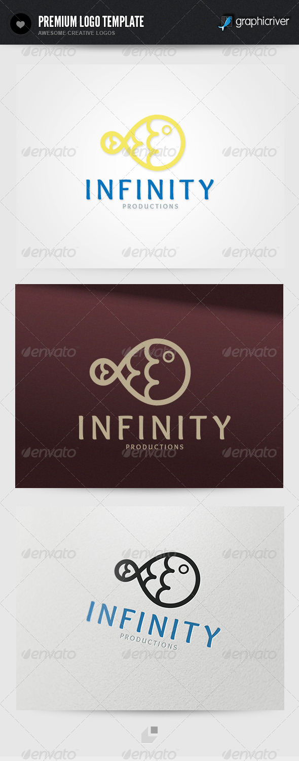 Infinity Logo - Numbers Logo Templates