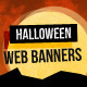 Halloween Web Banners - GraphicRiver Item for Sale