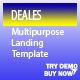 DEALES - Responsive Multipurpose Landing Template