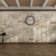 Vintage style empty room with old wall on background - PhotoDune Item for Sale