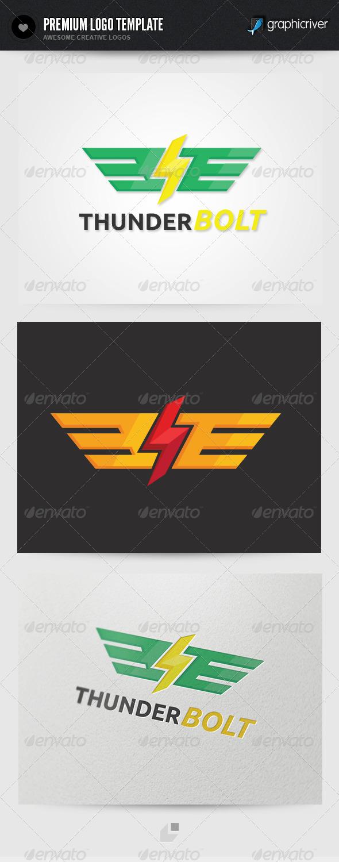 Thunderbolt Logo - Crests Logo Templates