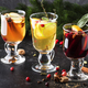 Mulled wine and mulled cider. Hot winter drinks and cocktails for christmas or new year's eve - PhotoDune Item for Sale