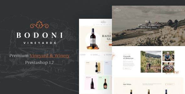 Leo Bodoni - Prestashop Wine Theme