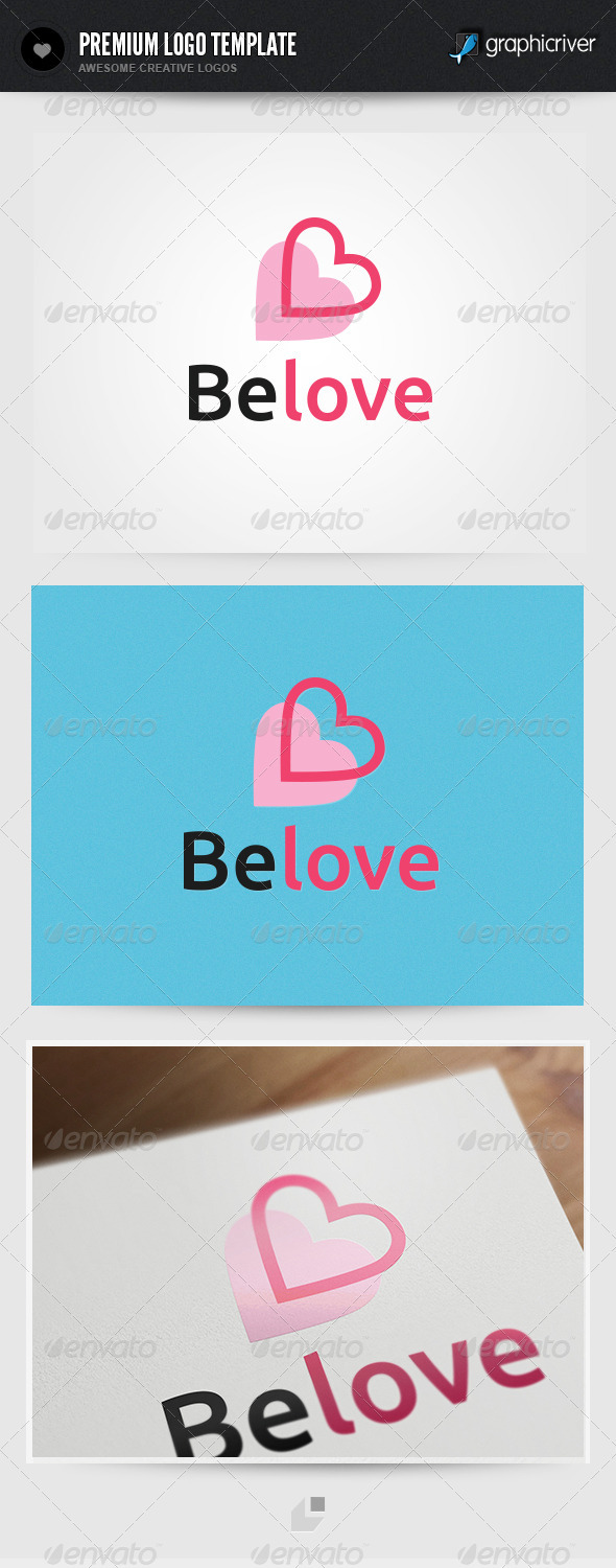 Belove Logo - Humans Logo Templates