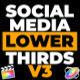 Social Media Lower Thirds v3 - VideoHive Item for Sale