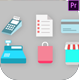 Shopping Icons Pack - VideoHive Item for Sale
