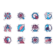Coronavirus Line Icons Set