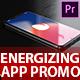 Energizing App Promo - Dynamic & Stylish Mobile App Demonstration Video Premiere Pro