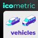 Icometric - Transportation Icons