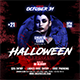 Horror Party Halloween Flyer