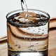 Pouring water into glass - PhotoDune Item for Sale