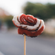 many ants eating from a lollipop on a stick - PhotoDune Item for Sale