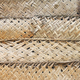 Dried palm leaf braid wall, natural background. - PhotoDune Item for Sale