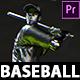 Your Baseball Intro - Baseball Promo Video Premiere Pro