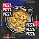 Modern Pizza Restaurant PSD Flyer