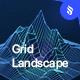 Grid Landscape Photoshop Brushes Set