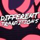 Different Transitions // Mogrt