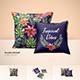 Silk Cushion/Pillow Cover Mockups
