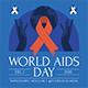 World Aids Day Flyer Set