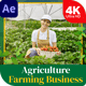 Agriculture Farming Business Slideshow - VideoHive Item for Sale