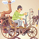 Inventor and his Steam Car - GraphicRiver Item for Sale