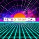 Retro Tropical VJ Loops Background - VideoHive Item for Sale