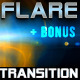 lens flare transitions