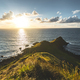 Northern Ireland shoreline, sunset ocean - PhotoDune Item for Sale