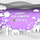 Paper Cut Halloween Wishes - VideoHive Item for Sale