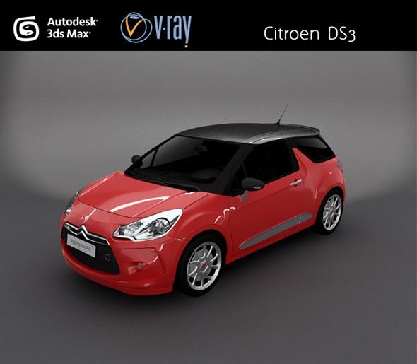 Citroen DS3 - 3DOcean Item for Sale