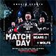 Match Day Football Flyer