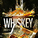 Flyer Whiskey Party Template