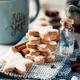 Cinnamon stars cookies, traditional german zimtsterne. - PhotoDune Item for Sale
