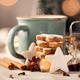 Zimtsterne, homemade german christmas cookies - PhotoDune Item for Sale