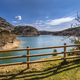 View of Vadiello reservoir fence - PhotoDune Item for Sale