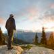 Hike on sunset - PhotoDune Item for Sale