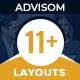 Advisom | Law Firm WordPress Theme
