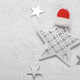 Christmas star with red hat - PhotoDune Item for Sale