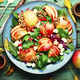 Yummy salad with apple,greens and oatmeal - PhotoDune Item for Sale