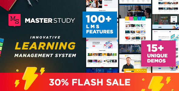 Special Masterstudy - Education WordPress Theme
