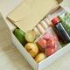Food box meal kit of fresh ingredients and recipe blank order - PhotoDune Item for Sale
