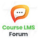 Forum & Discussion Addon Course LMS