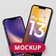 Phone 13 Pro Max Mockup