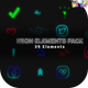Neon Elements Pack - VideoHive Item for Sale