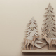 Christmas wooden toy card template - PhotoDune Item for Sale