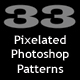 33 Pixel Patterns Set - GraphicRiver Item for Sale