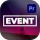 Event Opener for Premiere Pro - VideoHive Item for Sale
