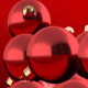 Glass Balls Revealing Merry Christmas - VideoHive Item for Sale
