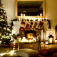 A decorated Christmas tree in the house - PhotoDune Item for Sale