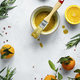 Homemade honey mustard sauce in a bowl food photography - PhotoDune Item for Sale